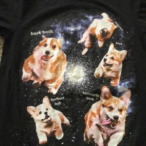 Space Corgi shirt